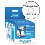 Dymo® Self-Stick CD/DVD Labels