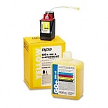 Kodak 21998900 Ink & Cart Kit, 1 Botl of Ink/1 Ink Ctg/1 Service Pack, Yellow