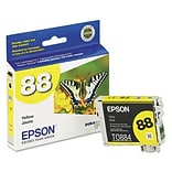 Epson® T088420 (88) Inkjet Cartridge; Yellow