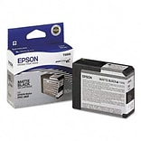 Epson® T580800 Ink Cartridge; Matte Black