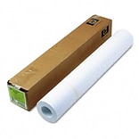 Large Format Paper for Inkjet Printers, 24lb, 24w, 150l, Bright White, Roll