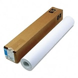 HP Designjet Large Format Paper for Inkjet Printers, 24lb, 24w, 150l, WE, Roll