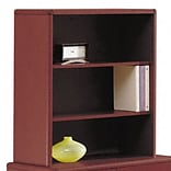 10700 Bookcase for 36 Storage Cabinet, 32-5/8w x 14-5/8d x 37-1/8h, Mahogany