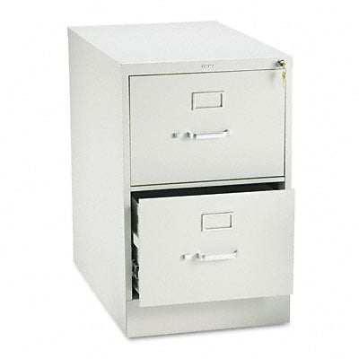 210 Series Two-Drawer, Full-Suspension File, Legal, 28-1/2d, Lt GY