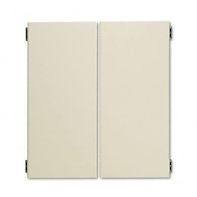 38000 Series Hutch Bookcase Doors for 72w HON38224NL, 36 x 16, Putty