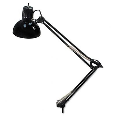 Opti Series Swing Arm Incandescent Lamp, 34 Reach, Black