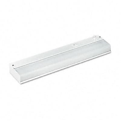 Low-Profile Under-Cabinet Fluorescent Fixture, Steel, 18-3/4 x 3-7/8 x 1-1/2, WE