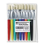 Charles Leonard® Bright Colored Handle Paint Brushes