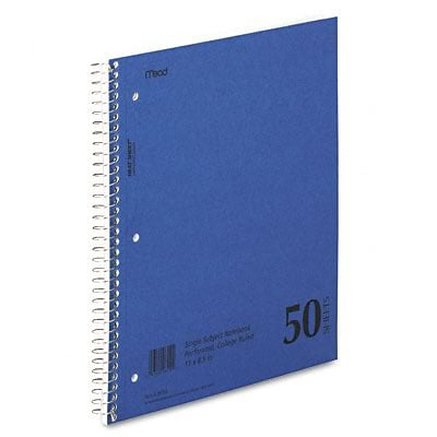 Mead® Mid Tier Single Subject Notebook