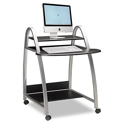 Eastwinds Arch Computer Cart, 31-1/2w x 34-1/2d x 37h, Anthracite