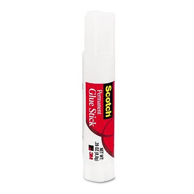 3M® Scotch® Permanent Glue Sticks; 24/Pack