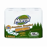 Marcal® Perforated Maxi Paper Towel Roll; 5-3/4 x 11, 6 Rolls per pack