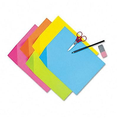Colorwave Super Bright Tagboard, 9x 12, Assorted Colors, 100 Sheets per Pack