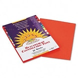 SunWorks® 9x12 Orange Construction Paper