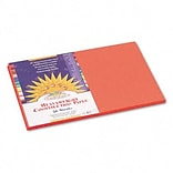 SunWorks® 12x18 Orange Construction Paper