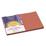 SunWorks® 12x18 Brown Construction Paper