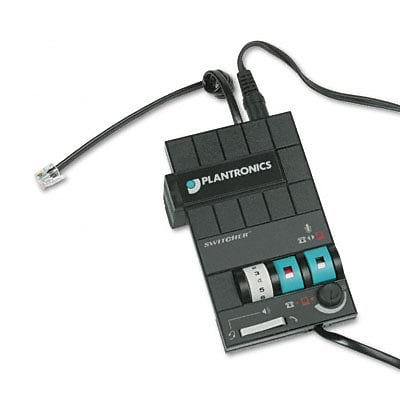 Plantronics® MX-10 Headset Switcher Multimedia Amplifier