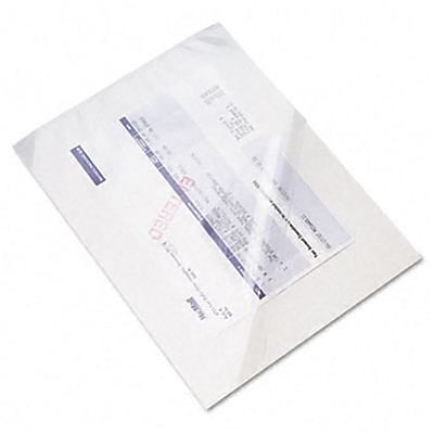 Accufax Fax Carrier, 8 1/2 x 11 Sheets, Clear, 10/pack