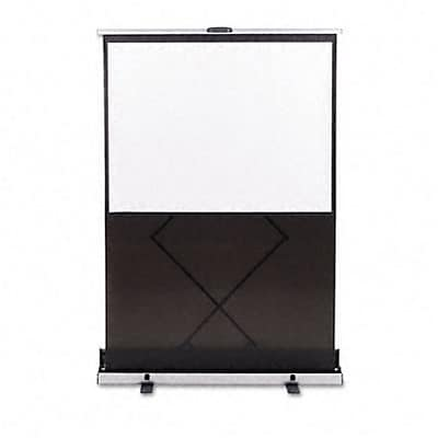 Euro Portable Cinema Screen with Black Carrying Case, 60