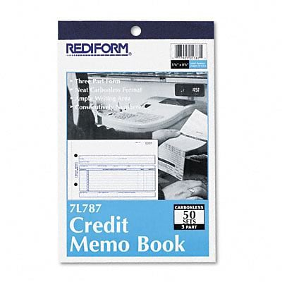 Rediform® Credit Memo Book