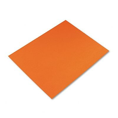 Pacon® 4-Ply Railroad Board; 22x28, Orange, 25 Sheets/CT
