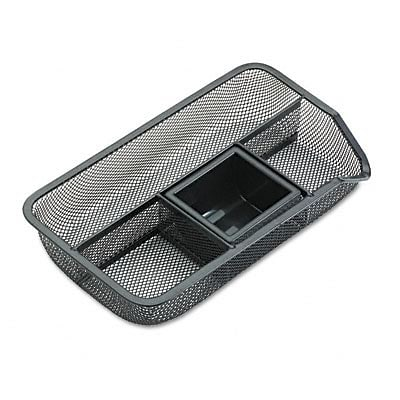 Drawer Organizer, Mesh, 10-7/8Wx6-3/8Dx1-7/8H, BLK