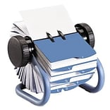 Rolodex™ Open Rotary Business Card File; 400 Capacity, Blue