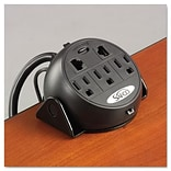 Safco 3-Outlet 8 Desktop Power Module