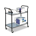 Two Shelf Wire Utility Cart