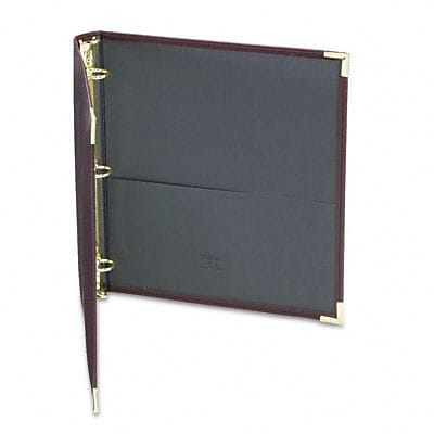 Samsill® Classic Collection Ring Binder Portfolio; 1 Capacity, Burgundy