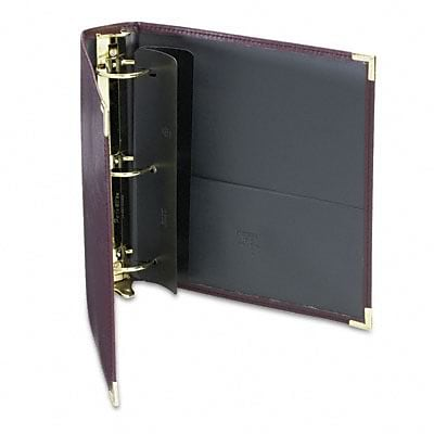 Samsill® Classic Collection Ring Binder Portfolio; 2 Capacity, Burgundy