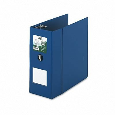 Samsill® Clean Touch Antimicrobial 5 D-Ring Binder with Label Holder; Non-View, Dark Blue, 3-Ring