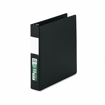 Samsill® Antimicrobial D-Ring Binder with Label Holder; 1-1/2 Capacity, Black