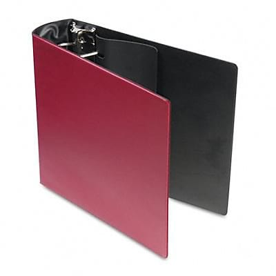 Samsill® Top Performance DXL Reference 3 D-Ring Binder W/Label Holder; Non-View, Burgundy, 3-Ring