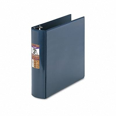 Samsill® Top Performance DXL Reference 3 D-Ring Binder; View, Dark Blue, 3-Ring