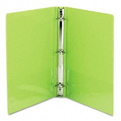 Samsill® Antimicrobial Presentation 1 Round Ring Binder; View, Lime, 3-Ring