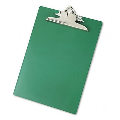 Saunders® Recycled Plastic Clipboards; Green