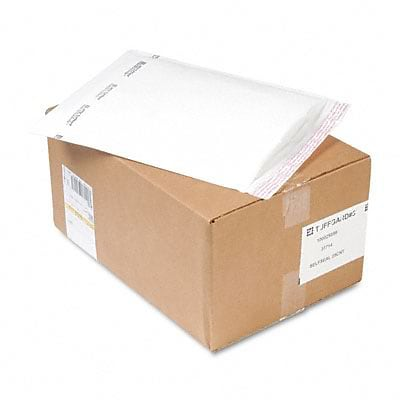 Jiffy TuffGard Self-Seal Cushioned Mailer, #5, 10-1/2 x 16, 25/Carton