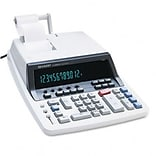 Sharp® QS-2760H Desktop Calculator, 12-Digit Fluorescent, Two-Color Printing, Black/Red