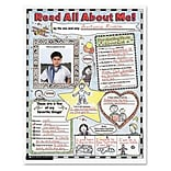 Scholastic Writing Resources; Instant Personal Poster Sets, Read All About Me, 17x22, K-2, 30/Set