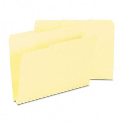 Heavyweight File Folders, 1/3 Cut, Top Tab, 1 1/2 Expansion, Letter, MLA, 50/Bx