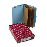 3 Expansion Classification Folders w/2/5 Cut, Lgl, 8-Section, BE, 10/box