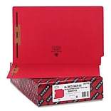 Legal Red 2 Capacity Fastener Folders