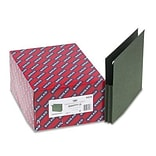 1-3/4 Capacity Hanging File Pockets w/Sides, Letter, Two-Tone Std Green, 25/Box
