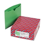 File Jackets w/Reinforced Double-Ply Tab, Ltr, 11 Pt. Stock, GR, 100/bx