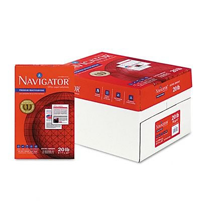 Navigator® Premium Muli-Purpose Paper; 20lb, 8-1/2x14, Legal