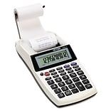 Victor® Hand-Held 1205-4 Portable Palm/Printing Calculator; 12-Digit LCD