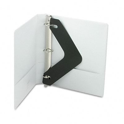 Acco® Wilson Jones® 1 D-Ring Binder; View, White, 3-Ring