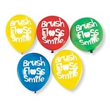 SmileMakers® Brush, Floss, Smile Balloons; 72 PCS