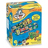 Looney Tunes® Adhesive Bandages; 1200/Case